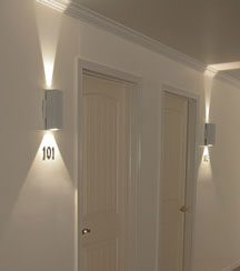 NSL LED Sconce Star